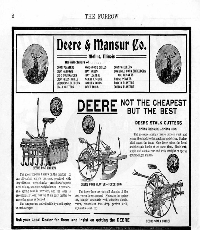 Одна из первых нативных реклам