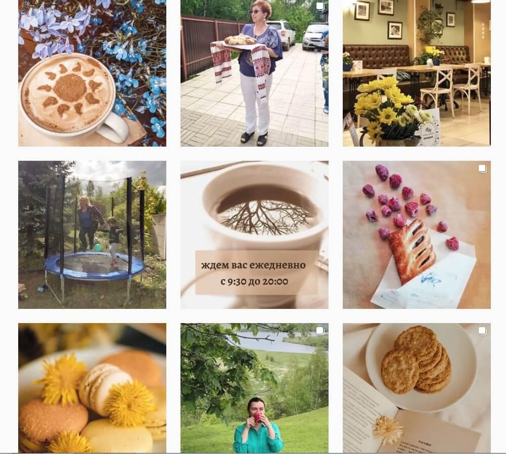 О том, что это кофейня, а не «в деревне у бабушки» можно сказать только по одному фото с расписанием работы заведения