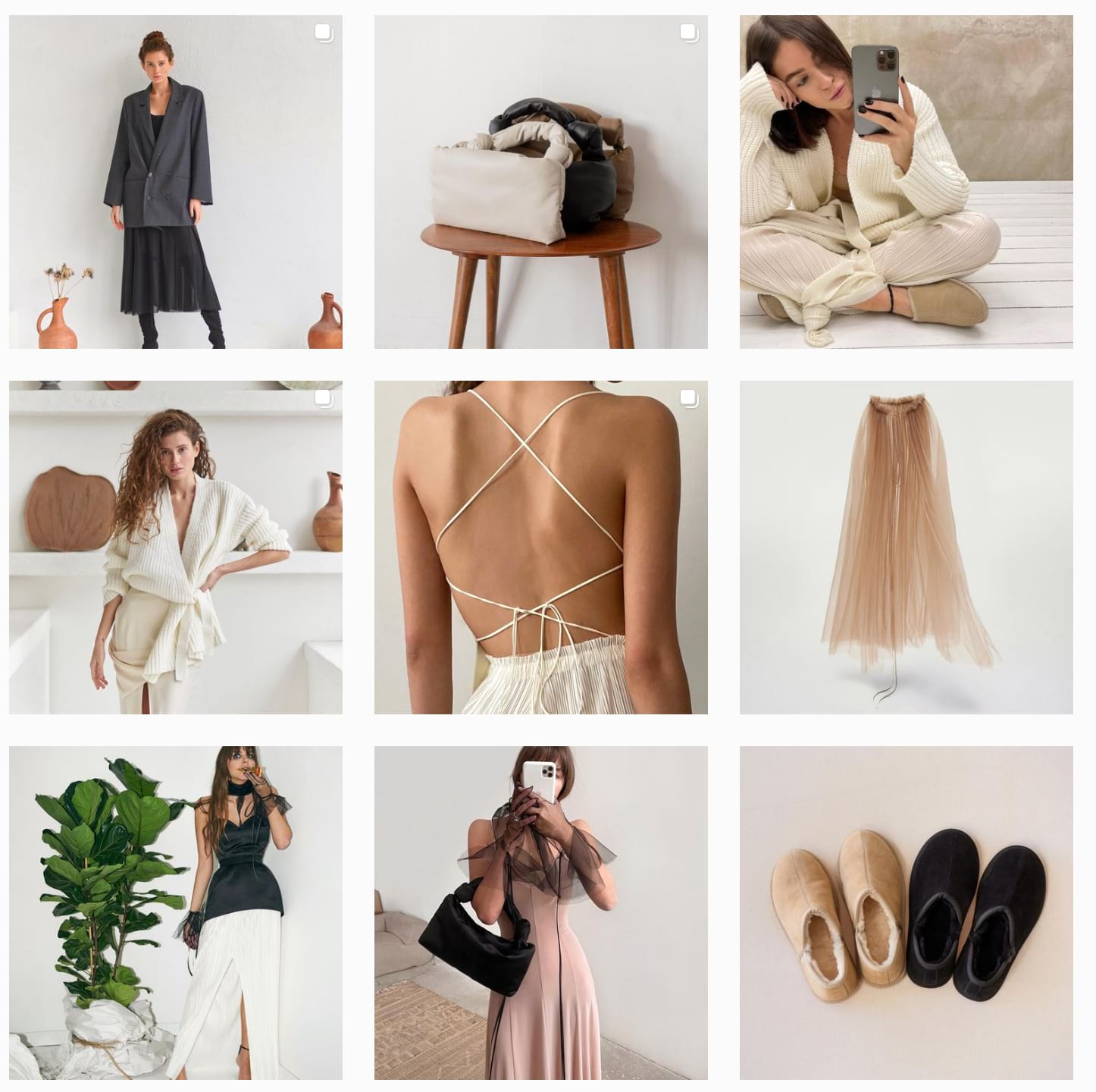 Пример отличного визуала магазина одежды Ushatava