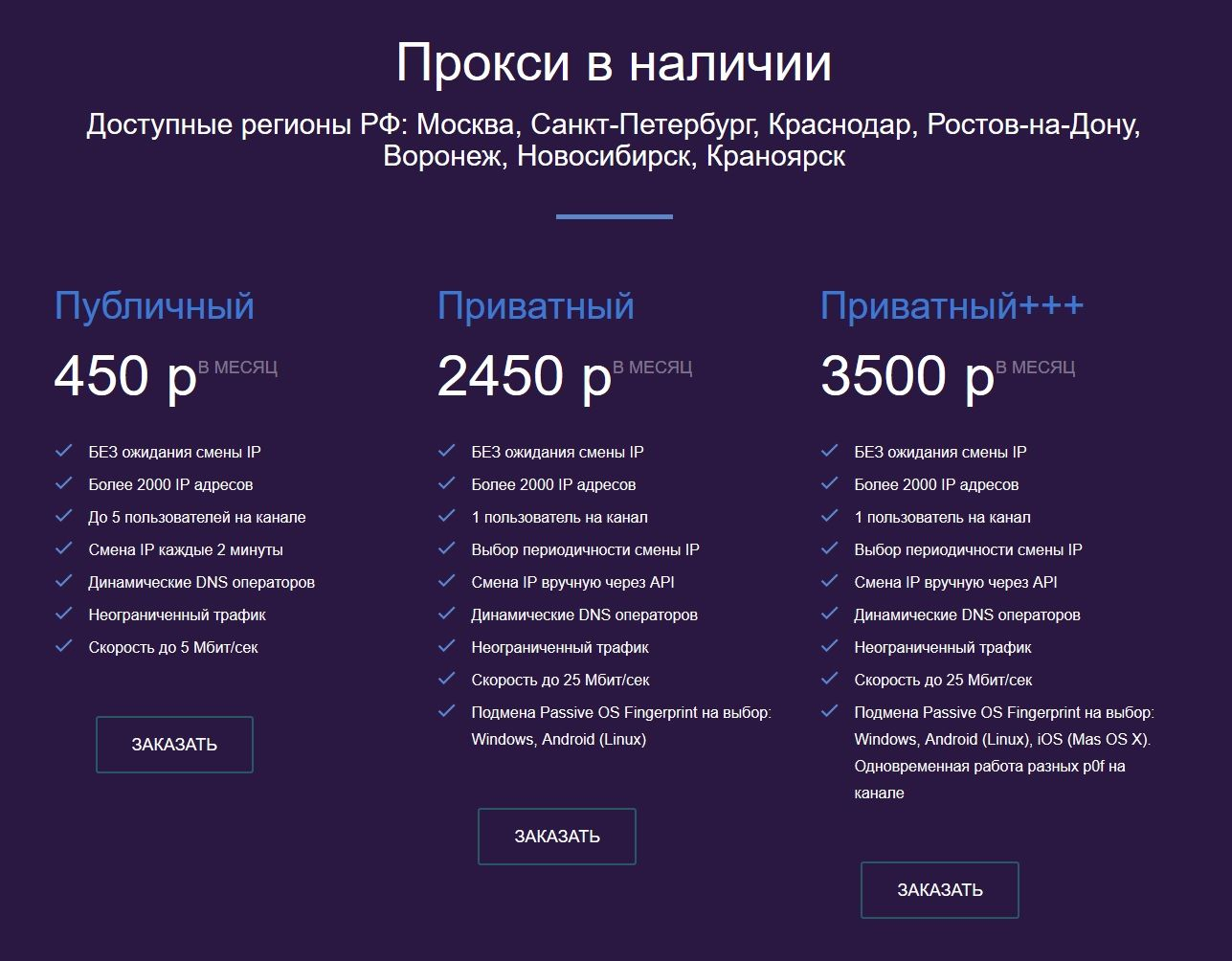 Мобильные прокси для Инстаграм True Proxy: публичные и приватные каналы можно тестировать 4 часа бесплатно по запросу в support