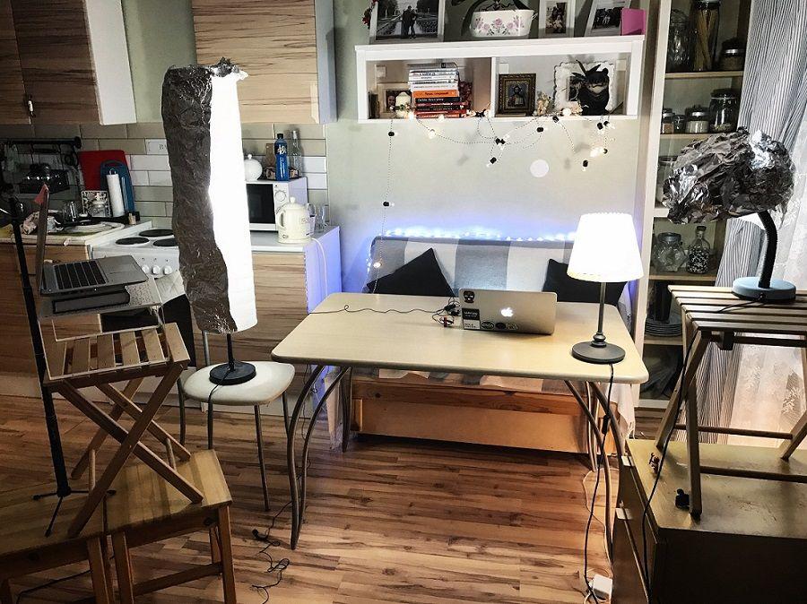 Студия SMMplanner на кухне семьи Борисовых