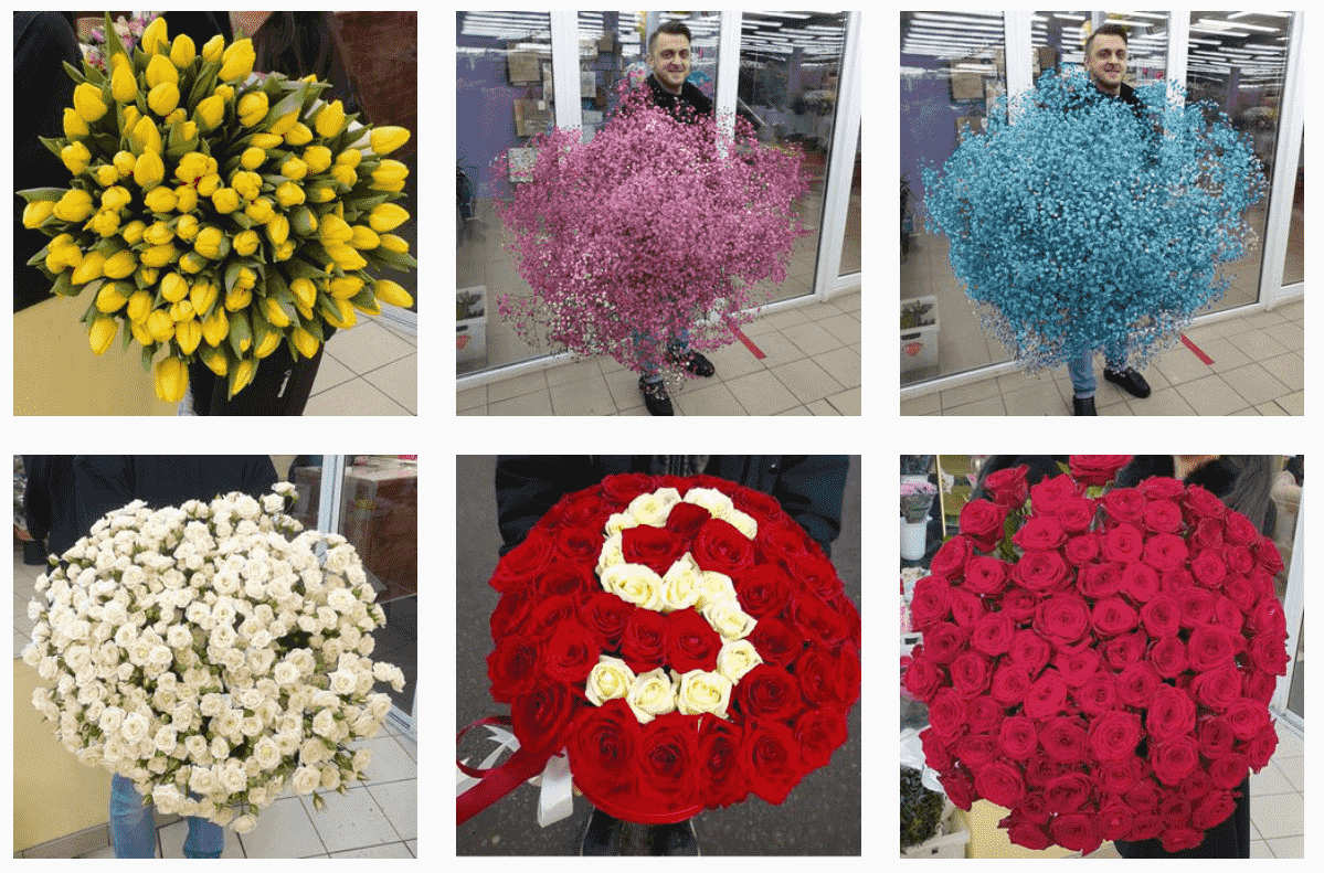 Флористы каждый день делают что-нибудь новенькое