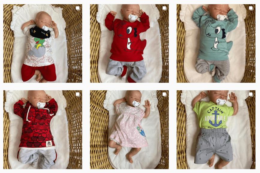 Посмотрите: одно и то же положение ребенка на всех фото может вызывать неприятные ассоциации