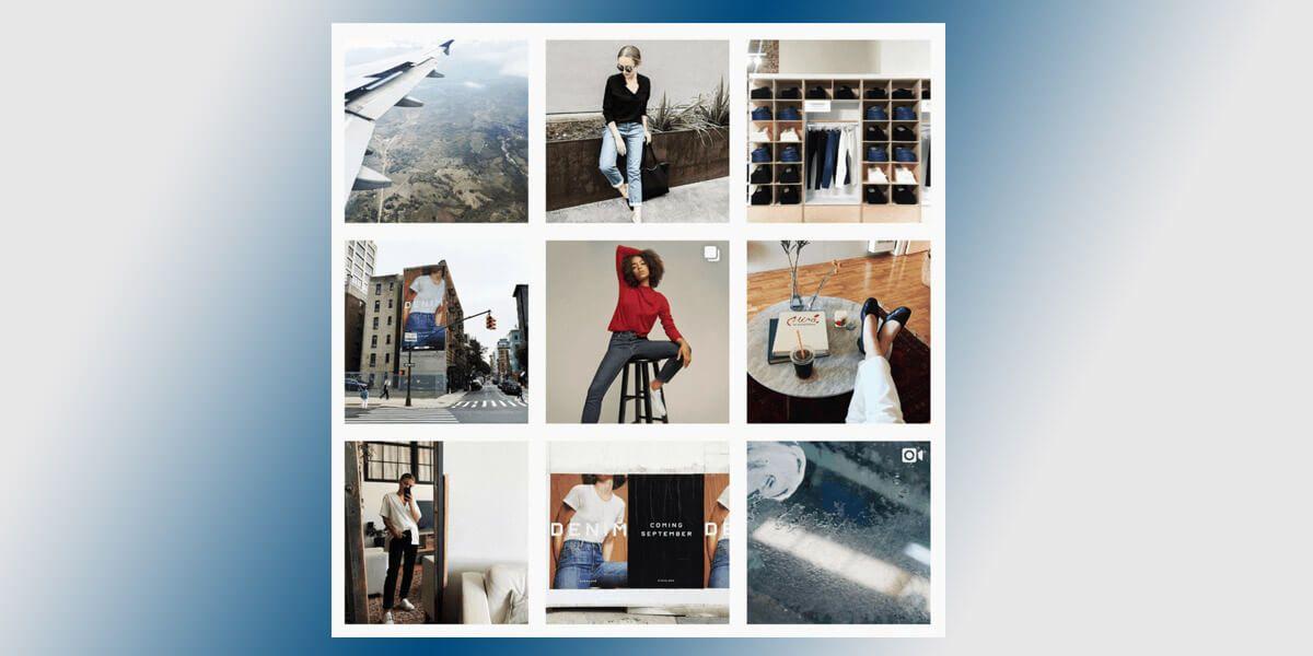 Страница бренда перед запуском новой коллекции