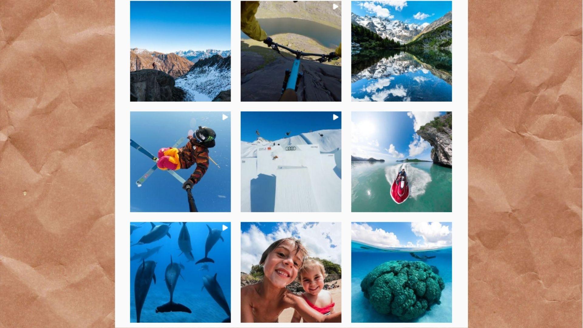 Подводный мир, горы, скалы – малая часть бесплатной рекламы GoPro, ведь ее творят сами покупатели