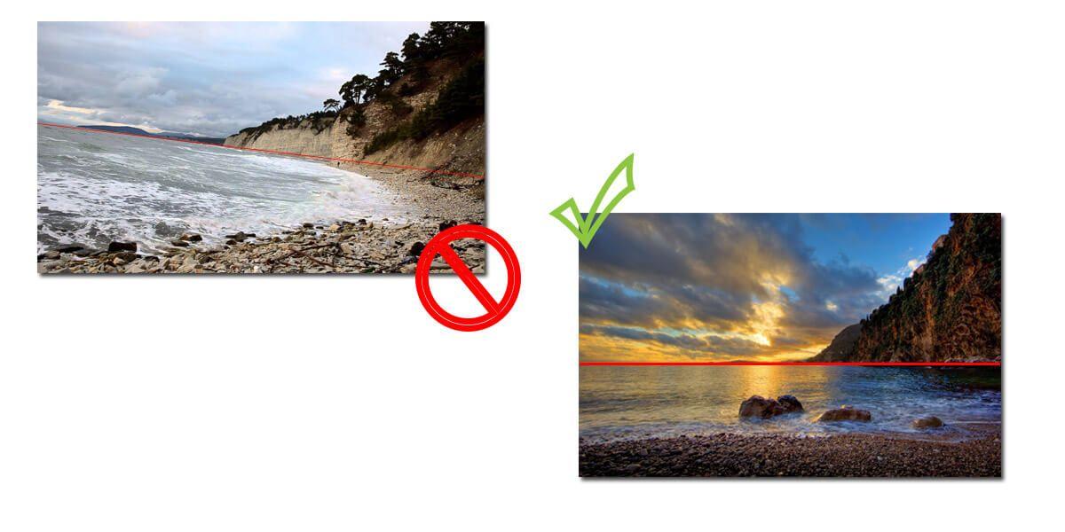 Ровный горизонт на фото – дело привычки. Если вы станете обращать на него внимание, со временем у вас этот навык будет автоматическим, и сделать профессиональные фото для Инстаграма перестанет быть проблемой