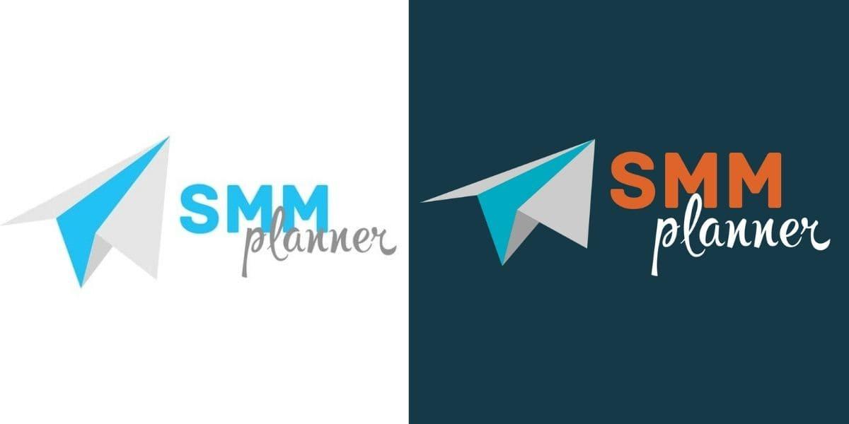 Первый логотип SMMplanner для сообщества во ВКонтакте и профиля в Инстаграме