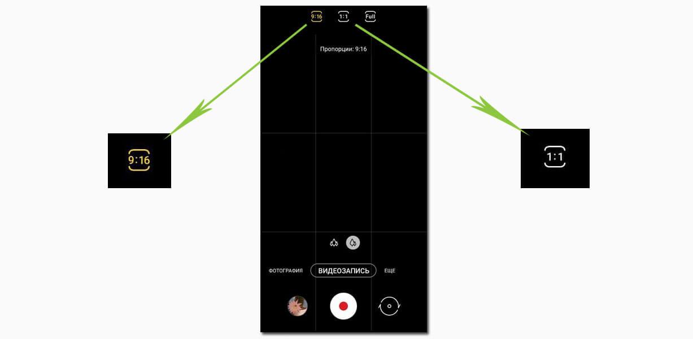 Современные камеры смартфонов адаптированы под современные форматы