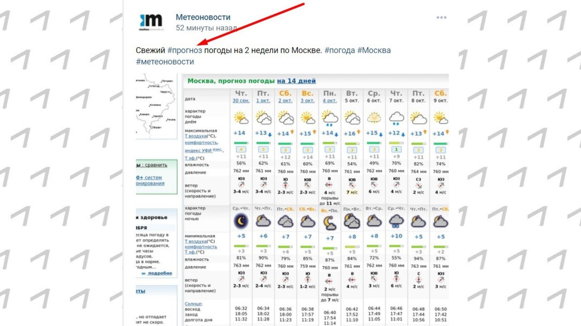Например, вот так – как сделали это метеорологи