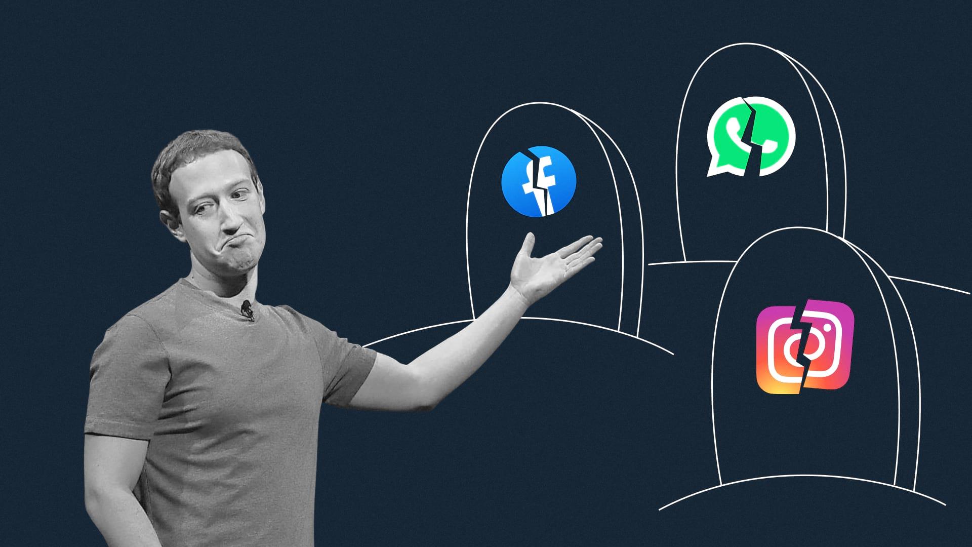 С днем падения, Фейсбук: как Цукерберг оставил без связи полмира и как на это отреагировали пользователи
