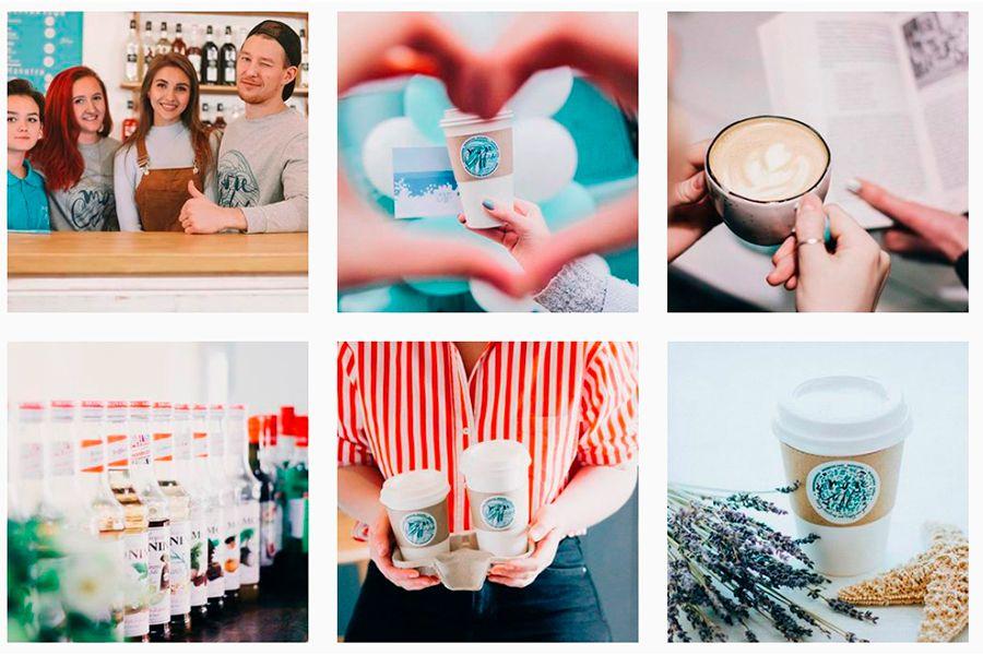 В соцсетях кофейни информируют гостей об акциях и скидках и общаются с клиентами