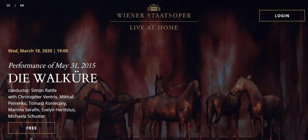 Сайт Венской государственной оперы