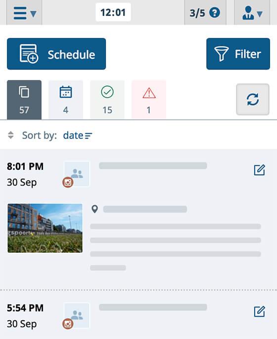 SMM planner service app